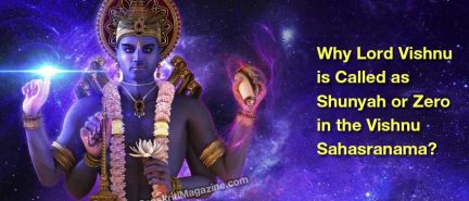 Why Lord Vishnu is Called as Shunyah or Zero in the Vishnu Sahasranama?