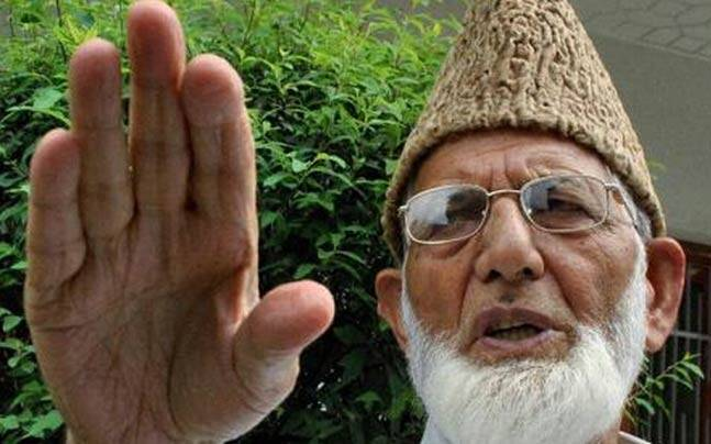 Hard-line Hurriyat Conference led by Syed Ali Geelani.