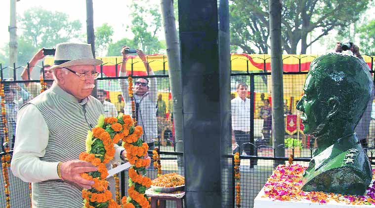 CM Manohar Lal Khattar, Army personnel pay tribute to martyr