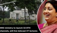 HRD ministry to launch 32 DTH channels, will live telecast IIT lectures