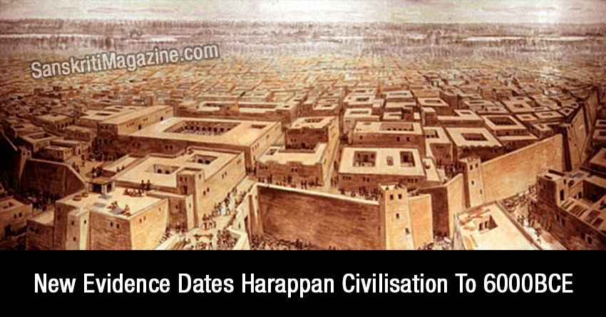 New Evidence Dates Harappan Civilisation To 6000BCE
