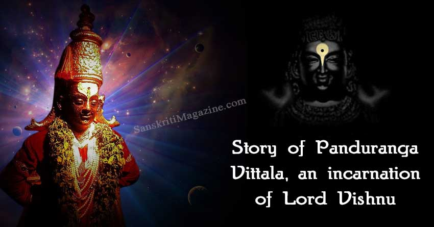 Story-of-Panduranga-Vittala,-an-incarnation-of-Lord-Vishnu