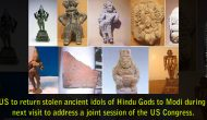 US to return stolen ancient idols of Hindu Gods to Modi