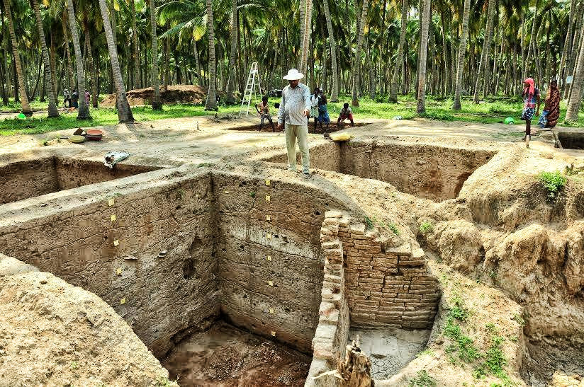 Harappa-like-ancient-site-excavated-in-Tamil-Nadu,-3,000-artifacts-discovered