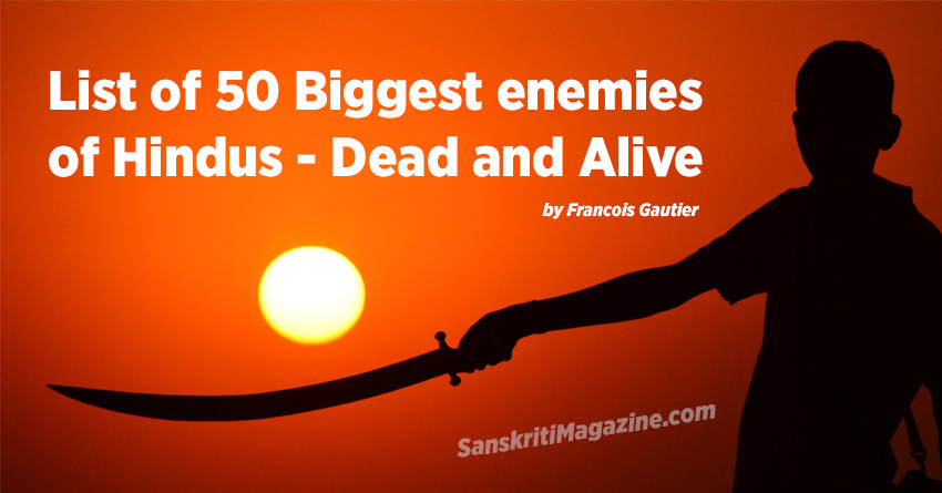 list of enemies of hindus