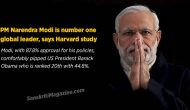 PM Narendra Modi is number one global leader, says Harvard study
