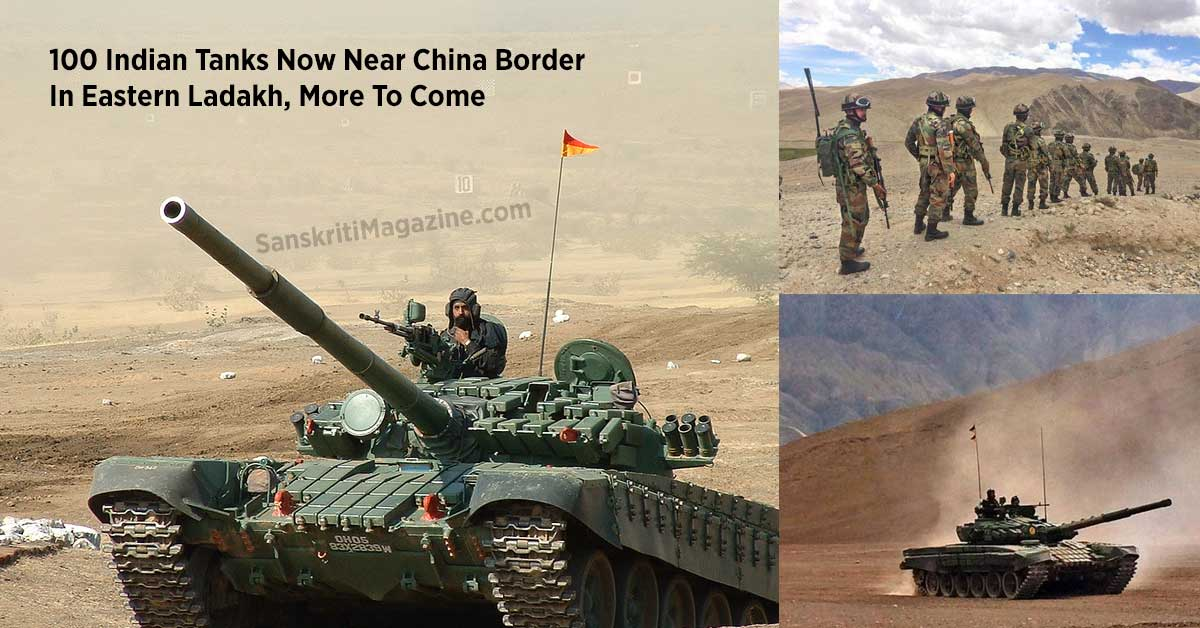100-Indian-Tanks-Now-Near-China-Border-In-Eastern-Ladakh,-More-To-Come
