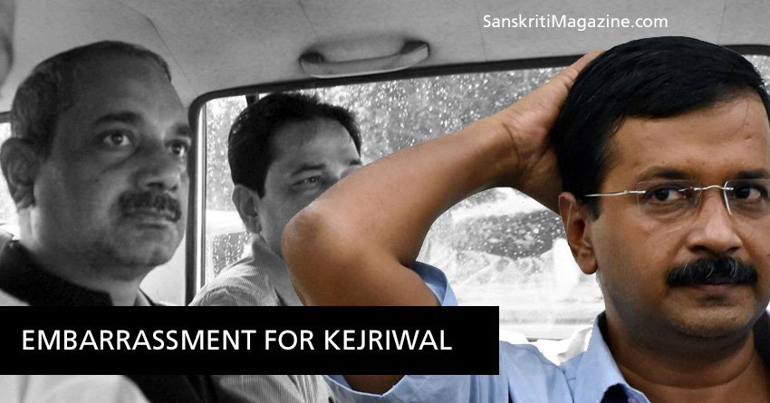 Delhi Embarrassement for Kejriwal
