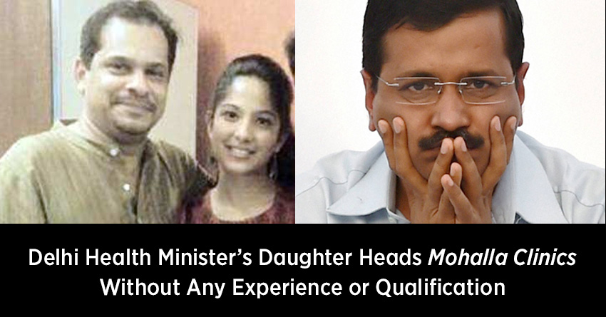 On Arvind Kejriwal's Watch, Minister's Daughter Gets Major Government Job
