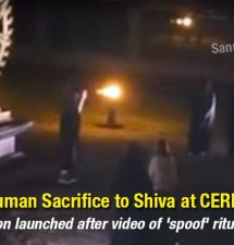 Human Sacrifice to Shiva at CERN? Investigation launched after video of 'spoof' ritual emerges