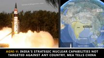 Agni-V: India's strategic nuclear capabilities not targeted against any country, MEA tells China