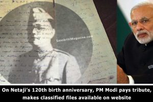 On-Netaji's-120th-birth-anniversary,-PM-Modi-pays-tribute,-makes-classified-files-available-on-website