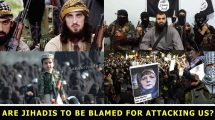 Are Jihadis to be blamed for attacking us?