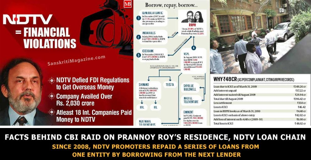 Behind-CBI-raid-on-Prannoy-Roy's-residence,-NDTV-loan-chain