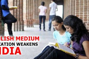 English-Medium-Education-Weakens-India