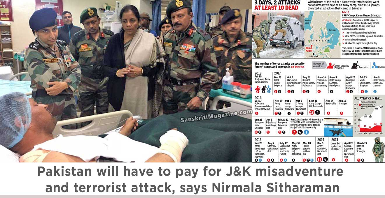 Nirmala-Sitharaman-Pakistan-will-have-to-pay-for-J&K-misadventure-and-terrorist-attack