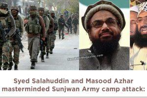 Syed Salahuddin and Masood Azhar masterminded Sunjwan Army camp attack:
