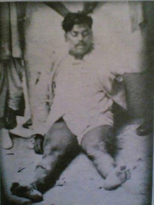 body of chandrashekhar azad