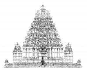 building hindu temple