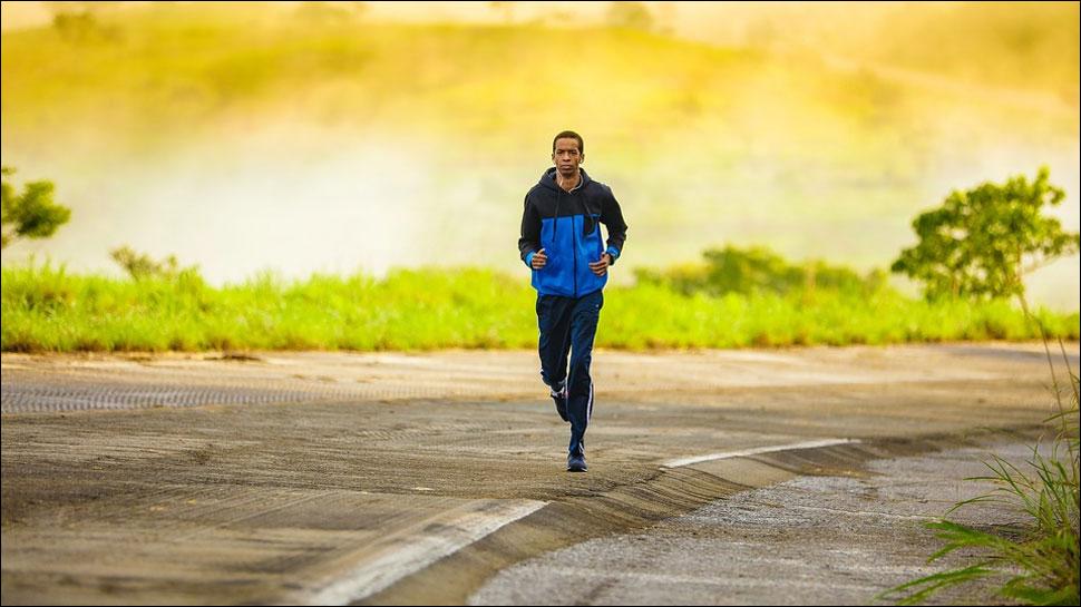 running reduce stress