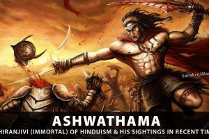 Ashwathama,-one-of-eight-Chiranjivis-(immortals)-of-Hinduism