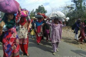 Hindu Residents Flee Jammu Village