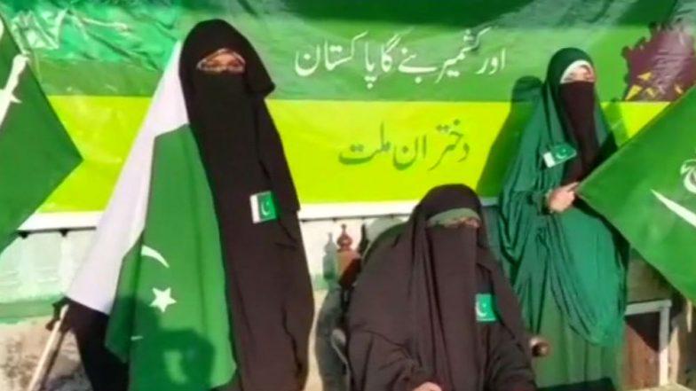 Asiya Andrabi celebrates Pakistan Day in Srinagar