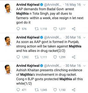 Kejriwal's false allegations
