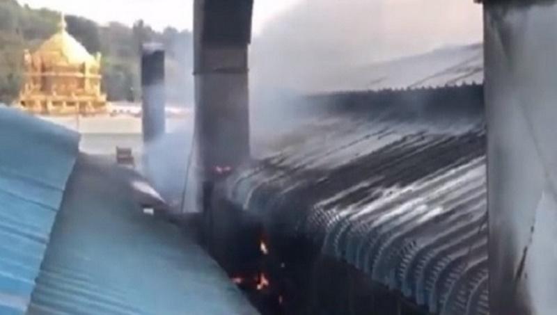 Fire in Tirupati temple's laddu making unit
