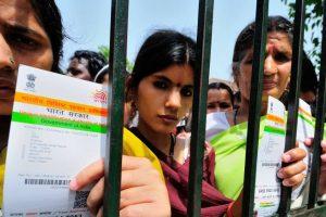 Aadhaar numbers linked to voter ID cards