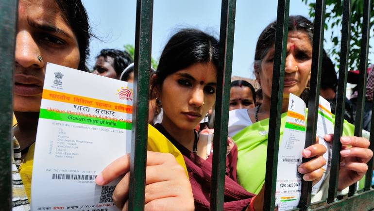 Aadhaar numbers linked to voter ID cards