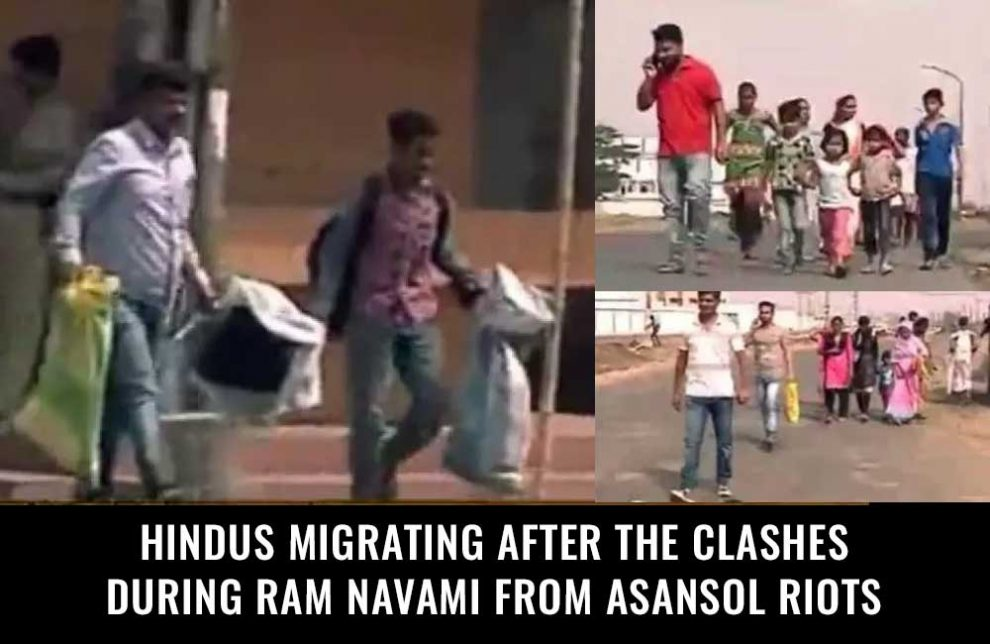 Hindus-migrating-after-the-clashes-during-Ram-Navami-from-Asansol-Riots
