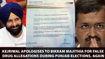 Kejriwal-apologises-to-Bikram-Majithia-for-false-drug-allegations-during-Punjab-elections
