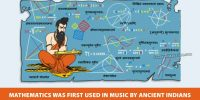 Mathematics was first used in Music by Ancient Indians