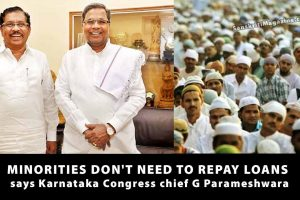 Minorities-don't-need-to-repay-loans-Karnataka-Congress-chief-G-Parameshwara