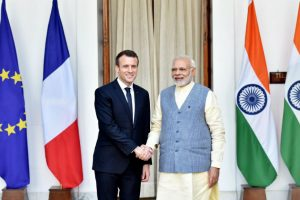 rench President Macron pledges 700 million euros for new solar projects