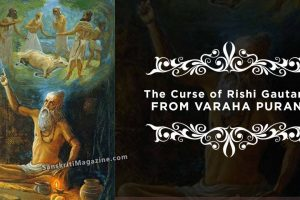 The Curse of Rishi Gautama From Varaha Purana