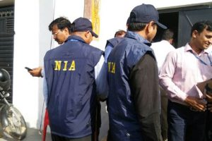 nia raids Srinagar Central jail