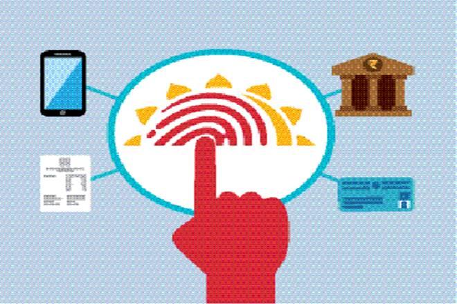 bank accounts seeded with Aadhaar