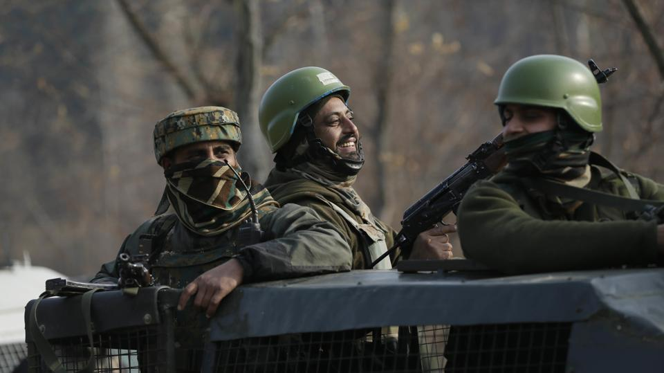 Eleven Terrorists killed in kashmir