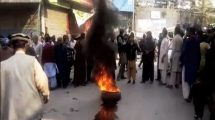 Residents Of PoK Protest Against Pakistan Brutalities,