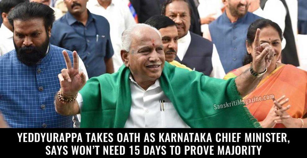 Yeddyurappa-takes-oath-as-Karnataka-chief-minister